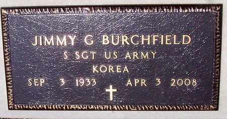 BURCHFIELD, JIMMY G (VETERAN KOR) - Allen County, Louisiana   JIMMY G (VETERAN KOR) BURCHFIELD - Louisiana Gravestone Photos
