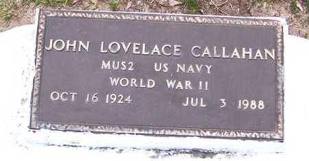CALLAHAN, JOHN LOVELACE  (VETERAN WWII) - Allen County, Louisiana | JOHN LOVELACE  (VETERAN WWII) CALLAHAN - Louisiana Gravestone Photos