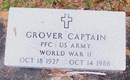 CAPTAIN, GROVER  (VETERAN WWII) - Allen County, Louisiana | GROVER  (VETERAN WWII) CAPTAIN - Louisiana Gravestone Photos