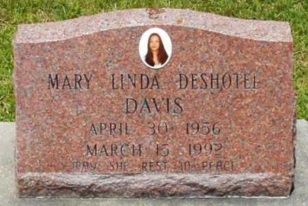 DAVIS, MARY LINDA - Allen County, Louisiana | MARY LINDA DAVIS - Louisiana Gravestone Photos