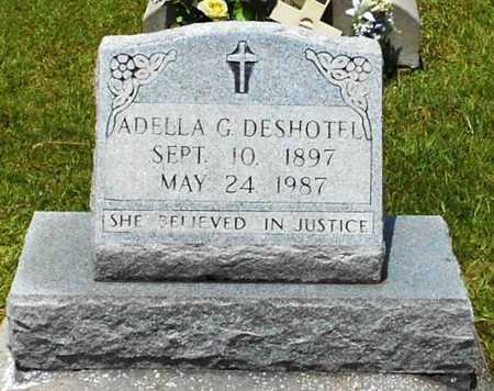 GUILLORY DESHOTEL, ADELLA - Allen County, Louisiana   ADELLA GUILLORY DESHOTEL - Louisiana Gravestone Photos