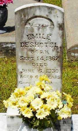 DESHOTEL, EMILE - Allen County, Louisiana   EMILE DESHOTEL - Louisiana Gravestone Photos