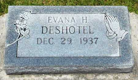 DESHOTEL, EVANA H - Allen County, Louisiana | EVANA H DESHOTEL - Louisiana Gravestone Photos
