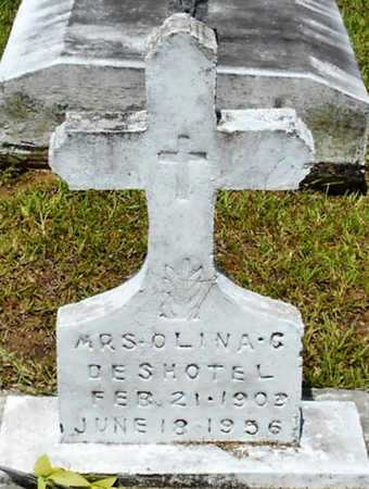 DESHOTEL, OLINA C, MRS - Allen County, Louisiana | OLINA C, MRS DESHOTEL - Louisiana Gravestone Photos