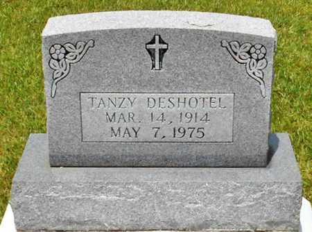 DESHOTEL, TANZY - Allen County, Louisiana | TANZY DESHOTEL - Louisiana Gravestone Photos