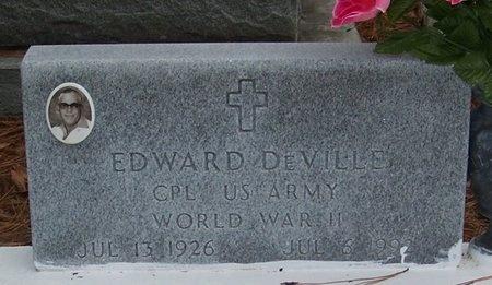 DEVILLE, EDWARD  (VETERAN WWII) - Allen County, Louisiana | EDWARD  (VETERAN WWII) DEVILLE - Louisiana Gravestone Photos