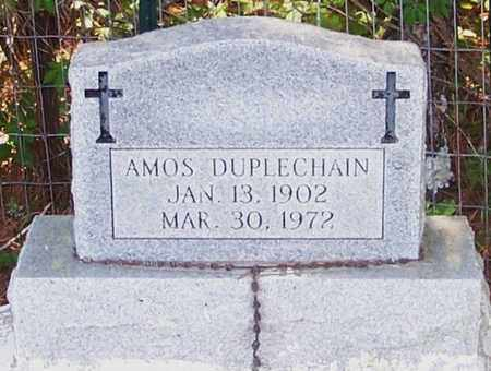 DUPLECHAIN, AMOS - Allen County, Louisiana   AMOS DUPLECHAIN - Louisiana Gravestone Photos