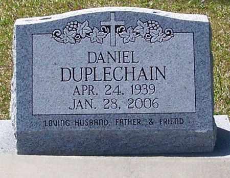 DUPLECHAIN, DANIEL - Allen County, Louisiana   DANIEL DUPLECHAIN - Louisiana Gravestone Photos