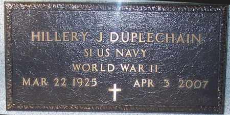 DUPLECHAIN, HILLERY J (VETERAN WWII) - Allen County, Louisiana   HILLERY J (VETERAN WWII) DUPLECHAIN - Louisiana Gravestone Photos