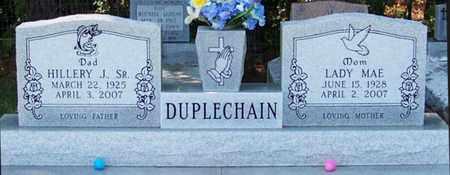 DUPLECHAIN, LADY MAE - Allen County, Louisiana | LADY MAE DUPLECHAIN - Louisiana Gravestone Photos