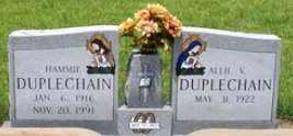 DUPLECHAIN, ALLIE - Allen County, Louisiana   ALLIE DUPLECHAIN - Louisiana Gravestone Photos