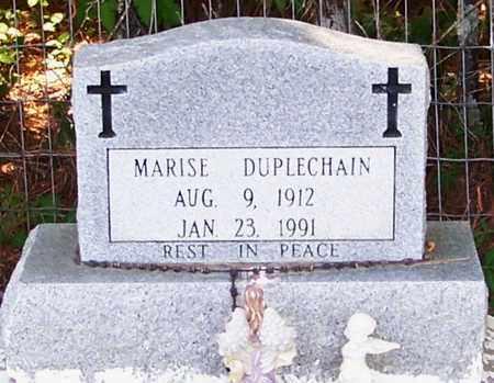 DUPLECHAIN, MARISE - Allen County, Louisiana   MARISE DUPLECHAIN - Louisiana Gravestone Photos