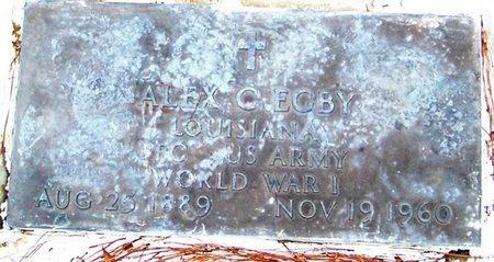 EGBY, ALEX  C (VETERAN WWI) - Allen County, Louisiana | ALEX  C (VETERAN WWI) EGBY - Louisiana Gravestone Photos