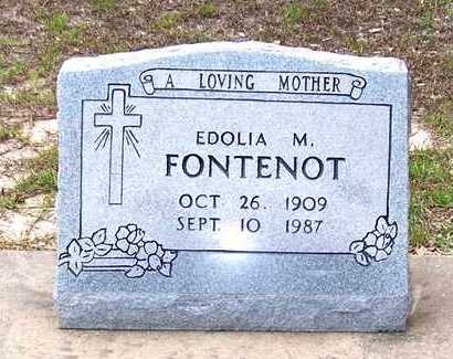 FONTENOT, ENDOLIA M - Allen County, Louisiana | ENDOLIA M FONTENOT - Louisiana Gravestone Photos