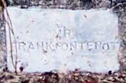 FONTENOT, FRANK (CLOSEUP) - Allen County, Louisiana | FRANK (CLOSEUP) FONTENOT - Louisiana Gravestone Photos