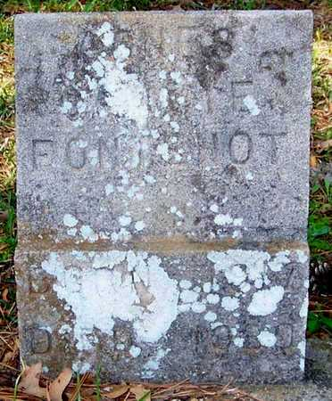 FONTENOT, JONES?  O_ _ ME? - Allen County, Louisiana   JONES?  O_ _ ME? FONTENOT - Louisiana Gravestone Photos