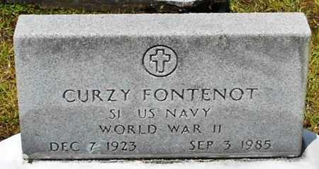 FONTENOT, CURZY (VETERAN WWII) - Allen County, Louisiana | CURZY (VETERAN WWII) FONTENOT - Louisiana Gravestone Photos