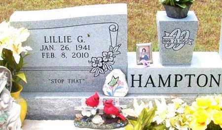 CHESSON HAMPTON, LILLIE GRACE (CLOSEUP) - Allen County, Louisiana | LILLIE GRACE (CLOSEUP) CHESSON HAMPTON - Louisiana Gravestone Photos