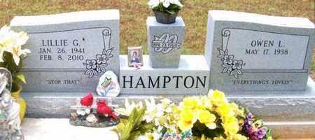 HAMPTON, LILLIE GRACE - Allen County, Louisiana | LILLIE GRACE HAMPTON - Louisiana Gravestone Photos