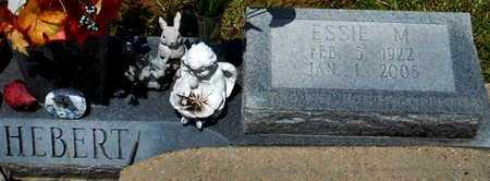 HEBERT, ESSIE M (CLOSEUP) - Allen County, Louisiana | ESSIE M (CLOSEUP) HEBERT - Louisiana Gravestone Photos