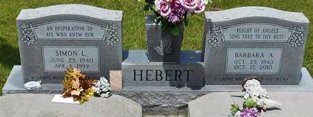 BURNS HEBERT, BARBARA ANN - Allen County, Louisiana | BARBARA ANN BURNS HEBERT - Louisiana Gravestone Photos