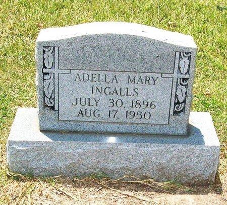 INGALLS, ADELLA MARY - Allen County, Louisiana   ADELLA MARY INGALLS - Louisiana Gravestone Photos