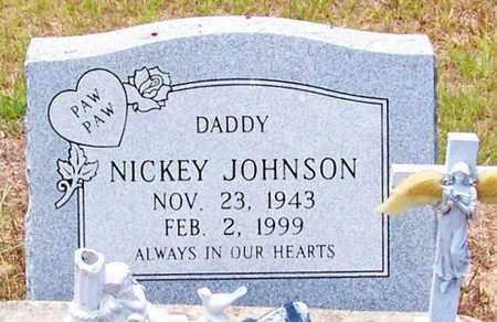JOHNSON, NICKEY - Allen County, Louisiana   NICKEY JOHNSON - Louisiana Gravestone Photos