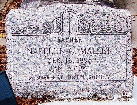 MALLETT, NAPELON C - Allen County, Louisiana | NAPELON C MALLETT - Louisiana Gravestone Photos