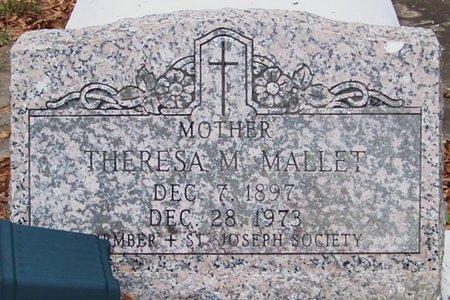 MALLETT, THERESA M - Allen County, Louisiana   THERESA M MALLETT - Louisiana Gravestone Photos