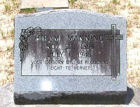 MANNING, HIRAM - Allen County, Louisiana | HIRAM MANNING - Louisiana Gravestone Photos
