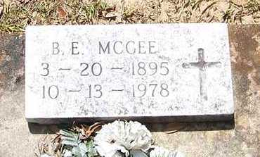 MCGEE, B E - Allen County, Louisiana | B E MCGEE - Louisiana Gravestone Photos