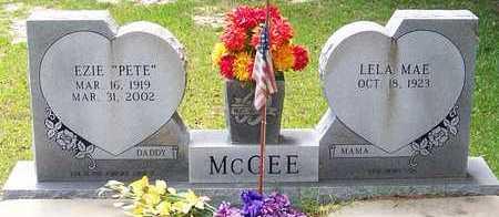 MCGEE, LELA MAE - Allen County, Louisiana | LELA MAE MCGEE - Louisiana Gravestone Photos