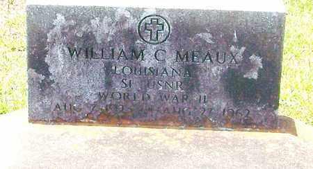MEAUX, WILLIAM C  (VETERAN WWII) - Allen County, Louisiana | WILLIAM C  (VETERAN WWII) MEAUX - Louisiana Gravestone Photos