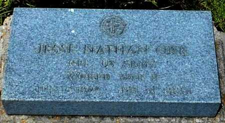 ORR, JESSE NATHAN (VETERAN WWII) - Allen County, Louisiana | JESSE NATHAN (VETERAN WWII) ORR - Louisiana Gravestone Photos
