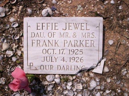 PARKER, EFFIE JEWEL - Allen County, Louisiana   EFFIE JEWEL PARKER - Louisiana Gravestone Photos