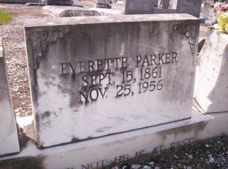 PARKER, EVERETTE - Allen County, Louisiana   EVERETTE PARKER - Louisiana Gravestone Photos
