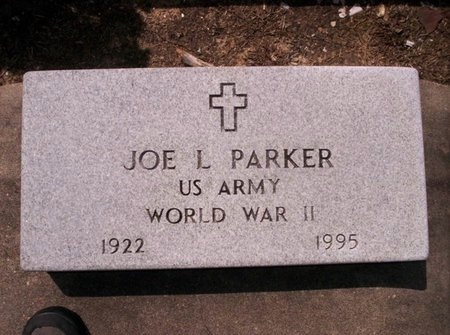 PARKER, JOE L  (VETERAN WWII) - Allen County, Louisiana | JOE L  (VETERAN WWII) PARKER - Louisiana Gravestone Photos