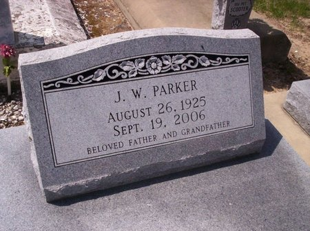 PARKER, J W - Allen County, Louisiana | J W PARKER - Louisiana Gravestone Photos