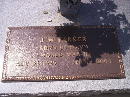 PARKER, J W  (VETERAN WWII) - Allen County, Louisiana | J W  (VETERAN WWII) PARKER - Louisiana Gravestone Photos