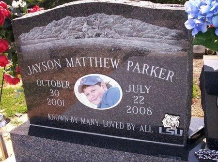 PARKER, JAYSON MATTHEW - Allen County, Louisiana | JAYSON MATTHEW PARKER - Louisiana Gravestone Photos