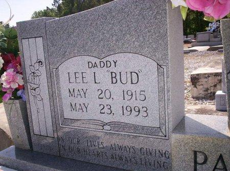"PARKER, LEE L  ""BUD"" - Allen County, Louisiana | LEE L  ""BUD"" PARKER - Louisiana Gravestone Photos"