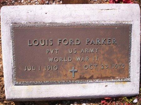 PARKER, LOUIS FORD  (VETERAN WWII) - Allen County, Louisiana | LOUIS FORD  (VETERAN WWII) PARKER - Louisiana Gravestone Photos