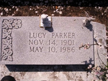PARKER, LUCY - Allen County, Louisiana | LUCY PARKER - Louisiana Gravestone Photos