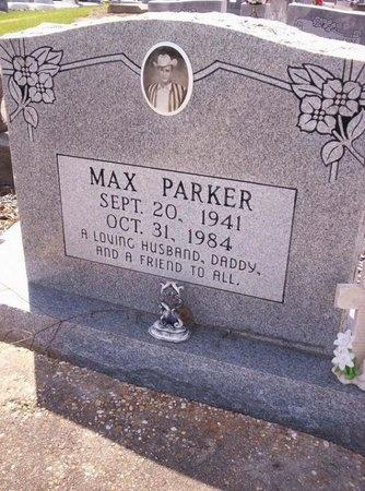 PARKER, MAX - Allen County, Louisiana | MAX PARKER - Louisiana Gravestone Photos