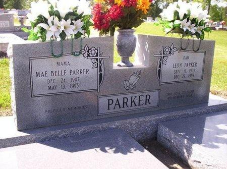 PARKER, MAE BELLE - Allen County, Louisiana | MAE BELLE PARKER - Louisiana Gravestone Photos