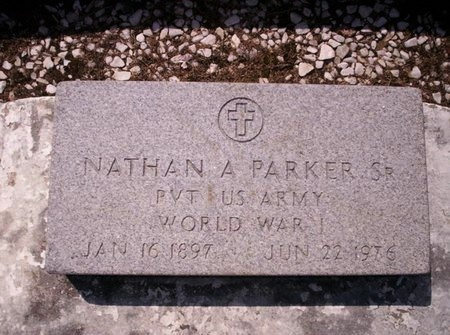 PARKER, NATHAN A, SR  (VETERAN WWI) - Allen County, Louisiana   NATHAN A, SR  (VETERAN WWI) PARKER - Louisiana Gravestone Photos