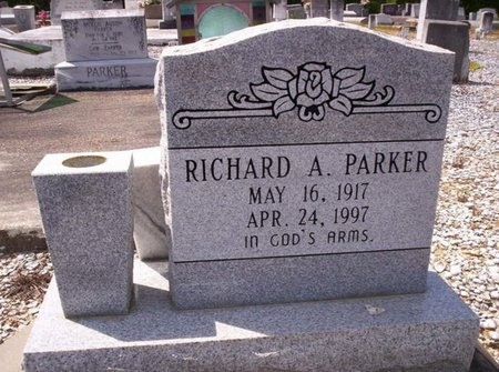 PARKER, RICHARD A - Allen County, Louisiana | RICHARD A PARKER - Louisiana Gravestone Photos