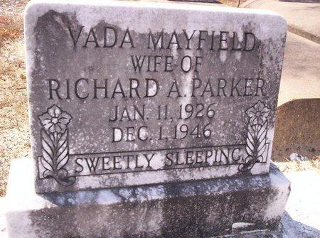 PARKER, VADA - Allen County, Louisiana | VADA PARKER - Louisiana Gravestone Photos