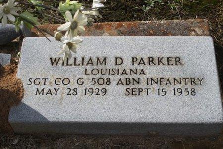 PARKER, WILLIAM D  (VETERAN ) - Allen County, Louisiana | WILLIAM D  (VETERAN ) PARKER - Louisiana Gravestone Photos