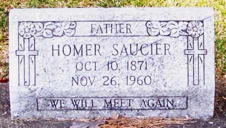 SAUCIER, HOMER - Allen County, Louisiana   HOMER SAUCIER - Louisiana Gravestone Photos